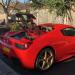Ferrari 458 Spider Upgrades; Capristo Carbon Fibre Glass Engine Cover & Engine Bay Carbon